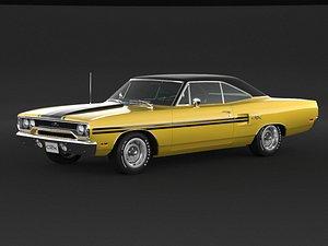 1970 Plymouth GTX model