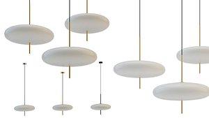 3D lakin lampatron pendant model