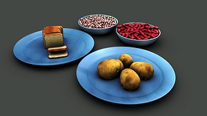 Carbohydrate Products 3D