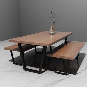 dining table interior model