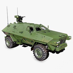 Armored Personnel Carrier model