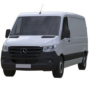 3D Sprinter Panel Van L2H1 model