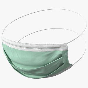 medical face mask medicine 3D model