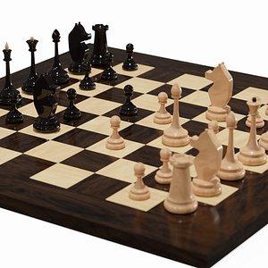3D chess board chessboard