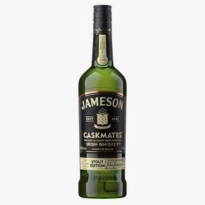 Jameson Stout Whiskey Bottle 3D