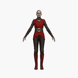 3D model Mag Woman
