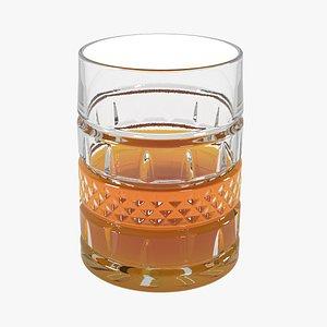 whiskey glass model