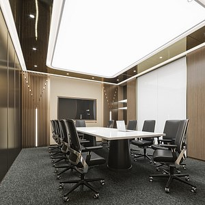room meeting 3D model