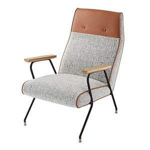3D furniture armchair chair model