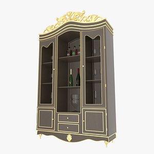 Cabinet Brawn 3D model