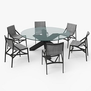 cassina dining table set model