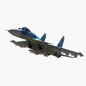 sukhoi su-33 3D