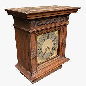 Classical Clock 01 3D model