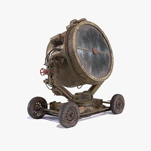 3D Military Searchlight USSR