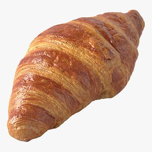 Realistic Croissant L 3D