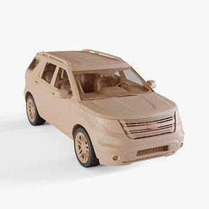 2011 Ford Explorer 3D