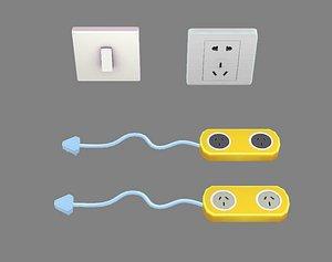 socket outlet 3D model