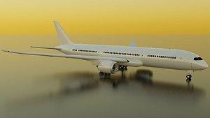 Boeing 787-9 3D