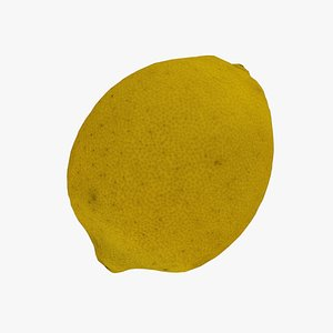 3D Lemon - Real-Time 3D Scanned