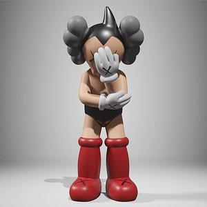 3D KAWS Astro Boy