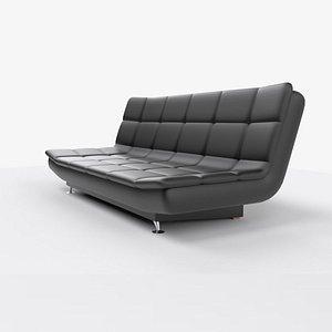leather sofa 3D model