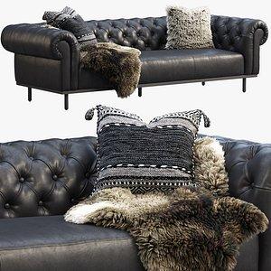 3D joybird bree sofa model