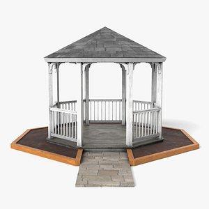 3D gazebo structure architecture