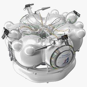 Satellite Fregat 3D model