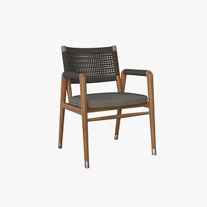 3D model Ortiga Chair V3