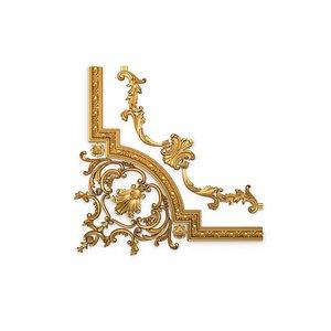 3D model ornament classic decor