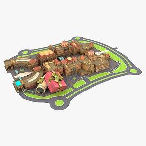 Katara Plaza Doha 3D model