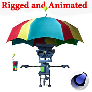 3D animations games model