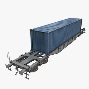 3D Real-time flat wagon
