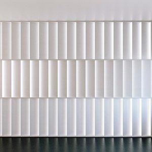 wall panel set 3D model