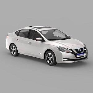 3D Nissa Sylphy EV 2020 model