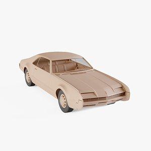 1966 Oldsmobile Toronado 9487 3D model