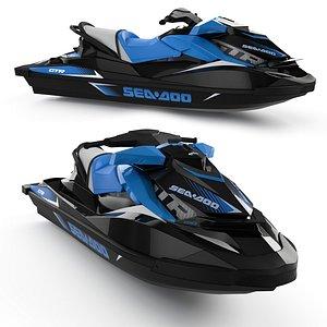 3D Hydrocycle SeaDoo GTR 230