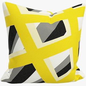 Sofa Pillow V34 3D model