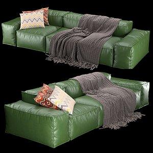 furniture peanut b sofa 3D model