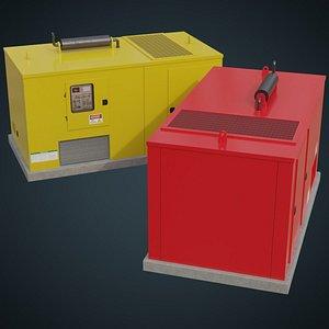 Generator 4A 3D model