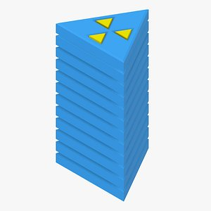 3D stack puzzle model