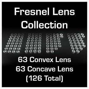 Ultimate Fresnel Lens Collection 3D model