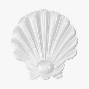 Giant Seashell Pool Float 3D