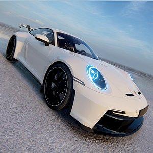 Porsche 911 GT3 Touring 2022 model