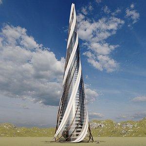 city architecture 3D model
