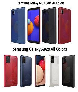 3D model samsung galaxy a02s m01