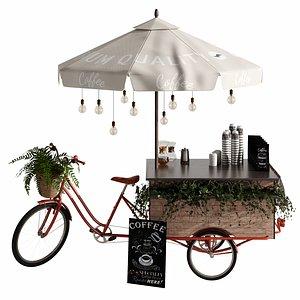 3D Coffee Bike mobile coffee 2