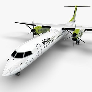 3D AIR BALTIC Bombardier DHC-8 Q400 Dash 8 L1490