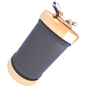 3D capacitor electric model