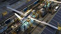 UAV production line